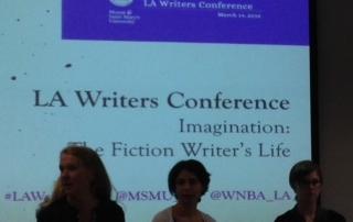 LA Writers Conference Panel