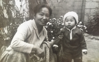 Rosa K Easton and Grandmother
