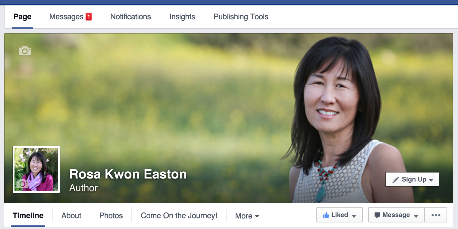Rosa Kwon Easton's Facebook cover