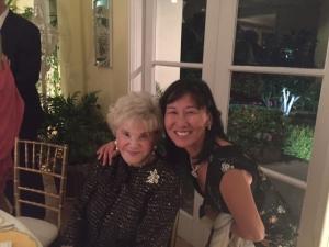 Rosa Kwon Easton with Judith Krantz