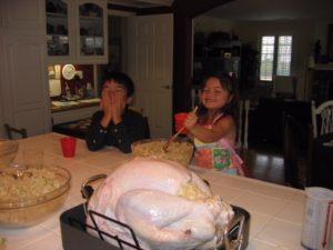 Easton kids thanksgiving